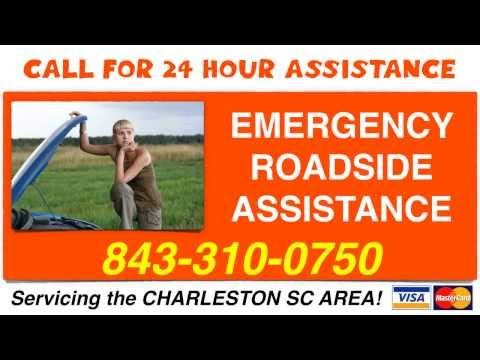 Charleston SC 24 Hour Roadside Assistance | Tow Truck Service