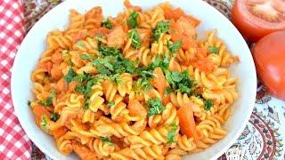 বিদেশী পাস্তা দেশী মজার স্বাদে ।। Pasta Recipe With Home Made Pasta Sauce ।। Pasta Recipe