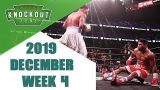 Boxing Knockouts | December 2019 Week 4