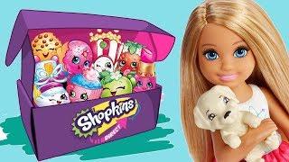 Barbie • Niespodzianki • Shopkins & Moj Moj • bajki dla dzieci