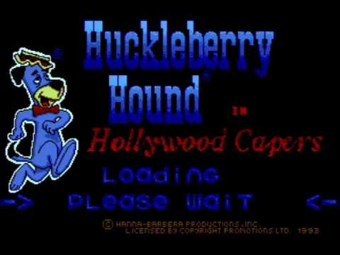 Huckleberry Hound In Hollywood Capers - Atari Mega 1