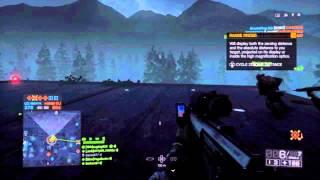 Battlefield 4 Night Operations sniping gameplay.