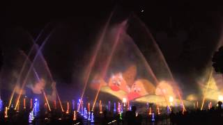 World of Color: Celebration - 2015 at Disney California Adventure