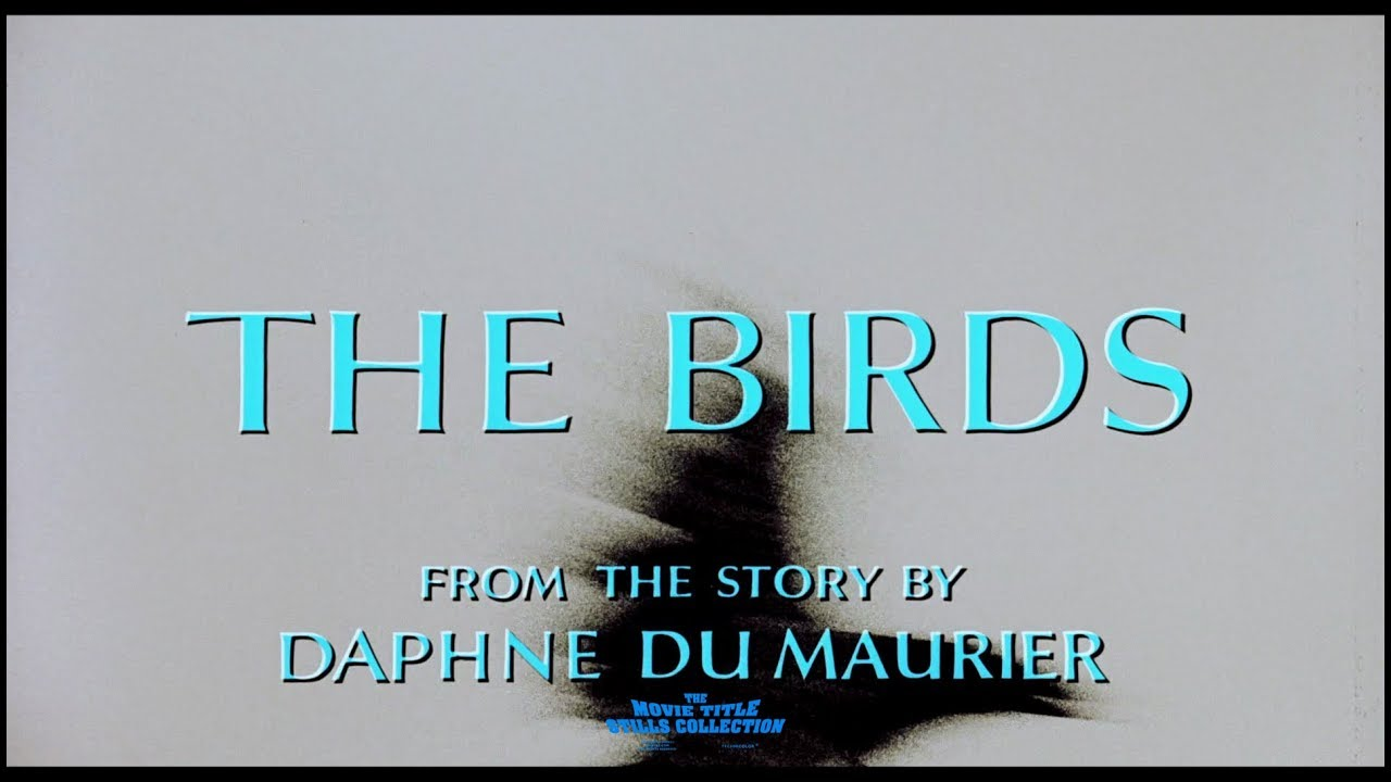 Download The Birds (1963) title sequence