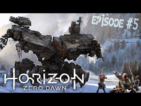 Horizon Zero Dawn | Play through | Gameplay | Part 5 - Deathbringer! Holy $H!T!