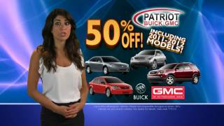 Patriot Buick GMC is Melting away the Price!