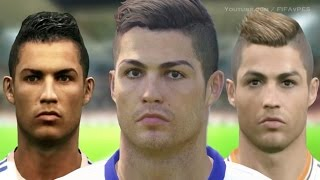 Cristiano Ronaldo From PES 3 to PES 2015 | HD 1080p