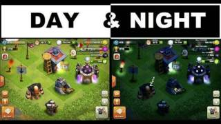 [INEDIT] Clash Of Clans mode nuit/ Clash Of Clans night mod
