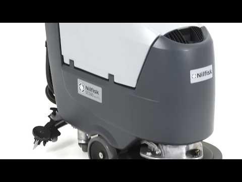 Nilfisk SC500 Pedestrian Scrubber Dryer
