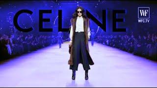 Сeline Fall/winter 20-21 Paris fashion show