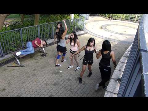 Girl Dance Group at Indonesian Festival