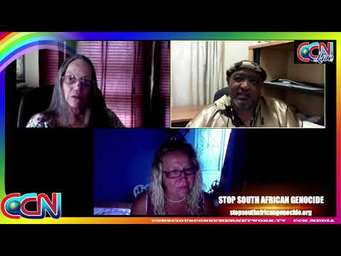 STOP SOUTH AFRICAN GENOCIDE | Mel Ve & Karin Smith interview the Khoi San King | 5 September 2017