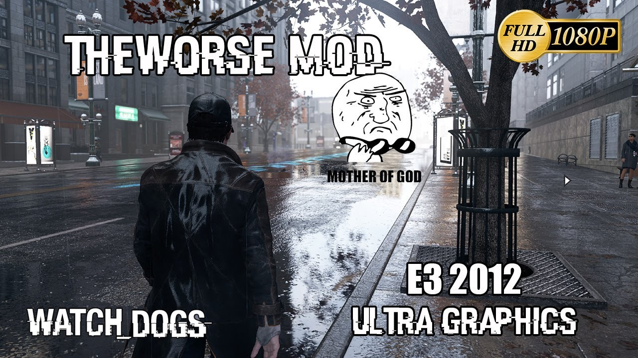 Hot! Watch dogs mod download (worse,sweetfx,custom) youtube.