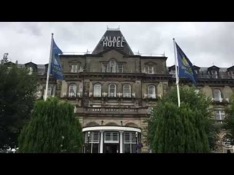 Hotel Review: Palace Hotel, Buxton, Derbyshire, England - August, 2016