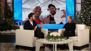 "John Krasinski's wife Emily Blunt and Dwayne ""The Rock"" Johnson recently filmed ""Jungle Cruise"" together, and the ""A Quiet Place"" star got a rare invite to workout in Dwayne's exclusive private gym, but John confessed to Ellen that most of the equipment was completely foreign to him. Plus, John chatted about being in People magazine's Sexiest Man Alive issue, and the time he saved a girl from drowning in Costa Rica.  #JohnKrasinski #DwayneJohnson #EmilyBlunt"