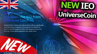 IEO REVIEW : Universe Coin - NEW IEO