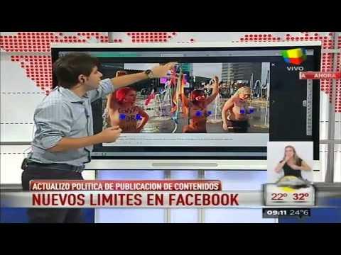 Facebook prohíbe el desnudo