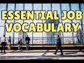 Business English Course Lesson 1: Essential Job Vocabulary