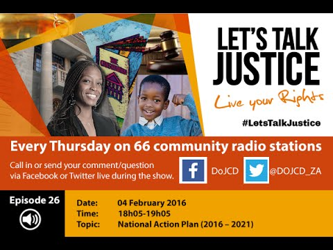 Let's Talk Justice Episode 26, 04 February 2016