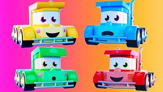 Мультфильмы с грузовиками для детей - Супер сборник, Лучшая из! - Truck Games