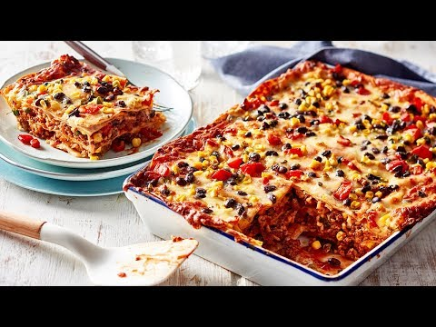 How to make Mexican Lasagne with Tortillas