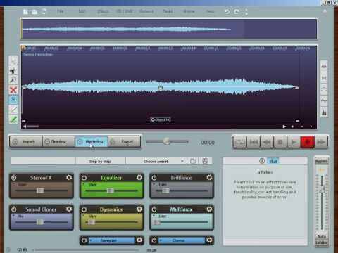 MAGIX Audio Cleaning Lab 16 Deluxe Tutorial Video