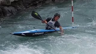 Semifinale K1 Kayak men international - parte tre - ICF World Ranking Slalom Ivrea 2014