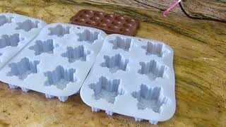 Part 1 - Making Cold Process Soap Embeds for Christmas