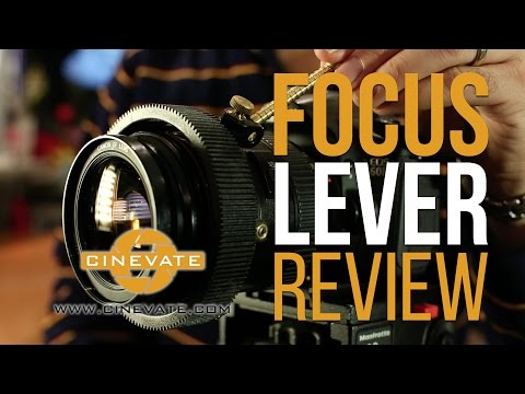 Is this really needed for DSLR Video: Follow Focus Lever