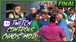 Twitch Controls GTA V Chaos - Chat Randomly Mods The Game - FINAL
