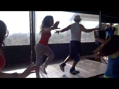 Rumba Caliente Dance Fitness by Jhonatan Jimenez with Marisa at Beverly Hills Coutry Club
