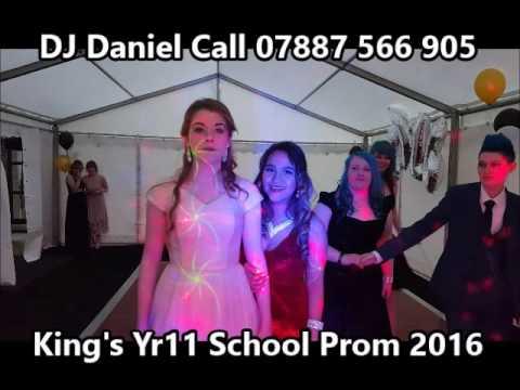 King's School Pontefract Year 11 School Prom 2016