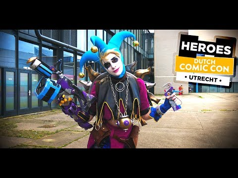 Dutch COMIC CON 2018  :: Jaarbeurs Utrecht, Netherlands :: 4k Cosplay Video - Sevenblade