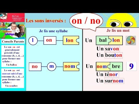 Les sons inversés # on / no / Lecture...
