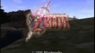 The Legend of Zelda Ocarina of Time N64 Trailer by CoffeeWithGames