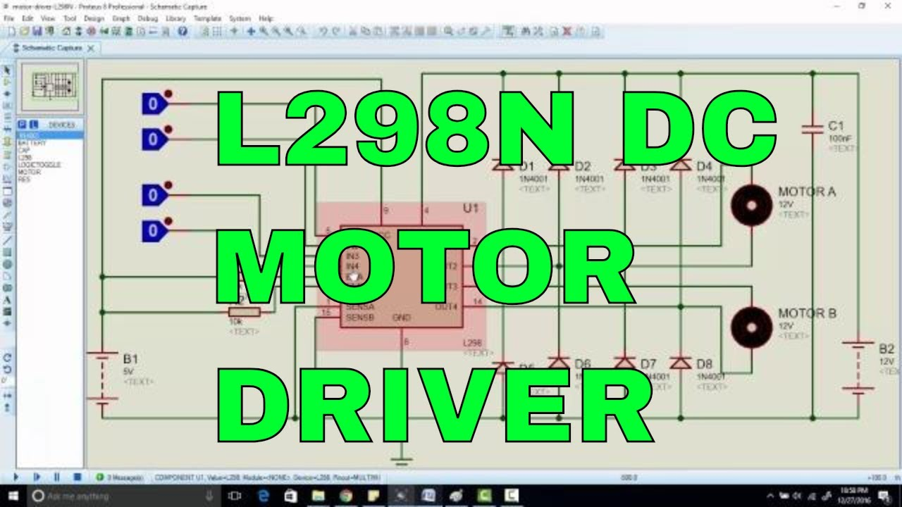 How To Use L298n Dc Motor Driver