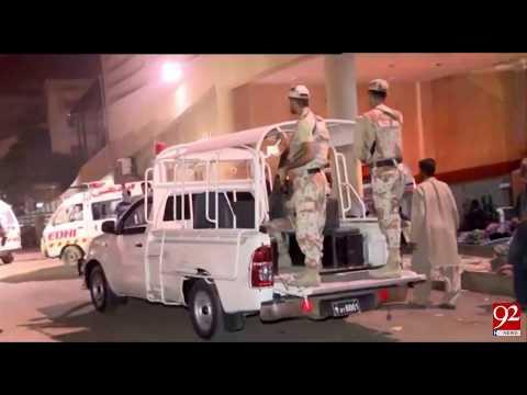 CTD and Ranger conduct operation in Karachi - 22 October 2017 - 92NewsHDPlus