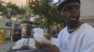 Бездомные Нью-Йорка