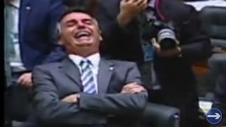 ➜ Petista faz Bolsonaro ter ataque de risos na Câmara dos Deputados
