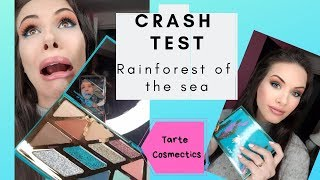 Crash Test - Rainforest of the Sea Palette from Tarte Hight Tides & Good Vibes