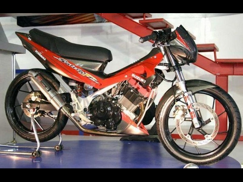 Video Modifikasi Motor Suzuki Satria Fu Road Race Keren