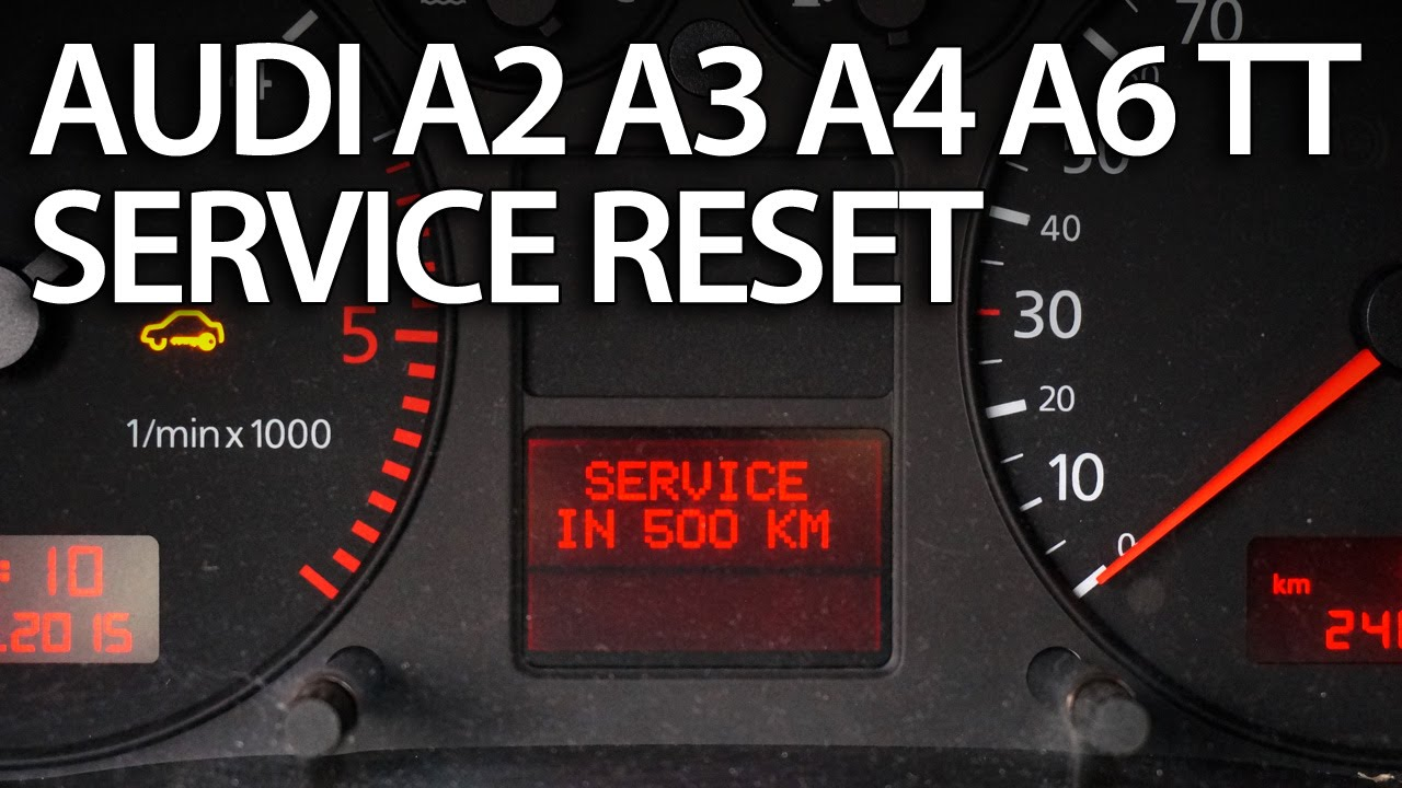 how to reset service interval in audi a2, a3, a4, a6, tt (sri srl 02 A6 how to reset service interval in audi a2, a3, a4, a6, tt (sri srl) 2000 and newer youtube