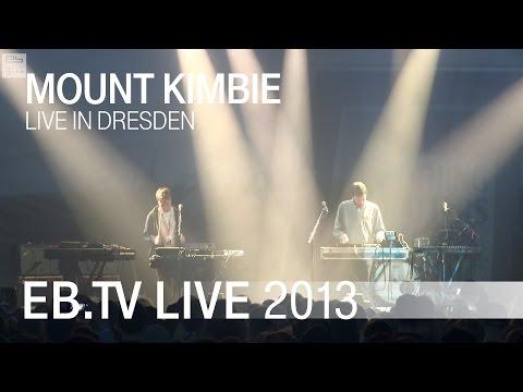 Mount Kimbie live in Dresden (2013)