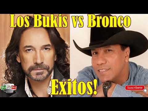 Los Bukis vs Bronco, Marco Antonio Solis vs Guadalupe Esparza - Exitos Disco Completo!