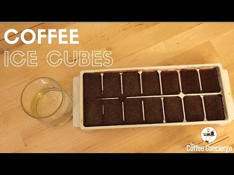 Coffee Hack: Coffee Ice Cubes (Easy Iced Coffee)
