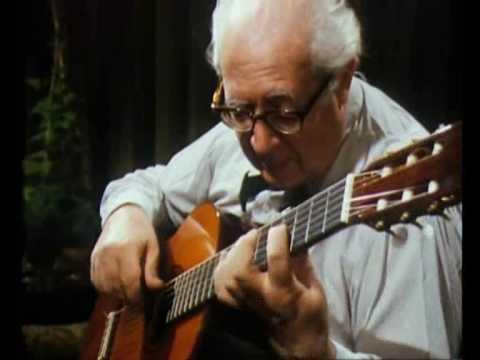J S Bach by Segovia