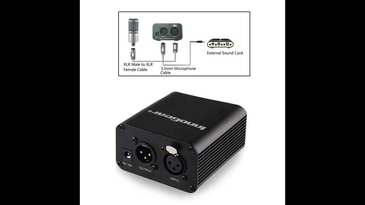 InnoGear I229 Reliable 48V Phantom Power For Condenser