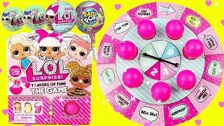 LOL SURPRISE GAME Pikmi Pop Surprises Fun Board Game The Queen, Sugar Queen, Moana, Maui