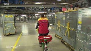 TV Doku Endspurt beim Paketdienst im DHL Paketzetrum