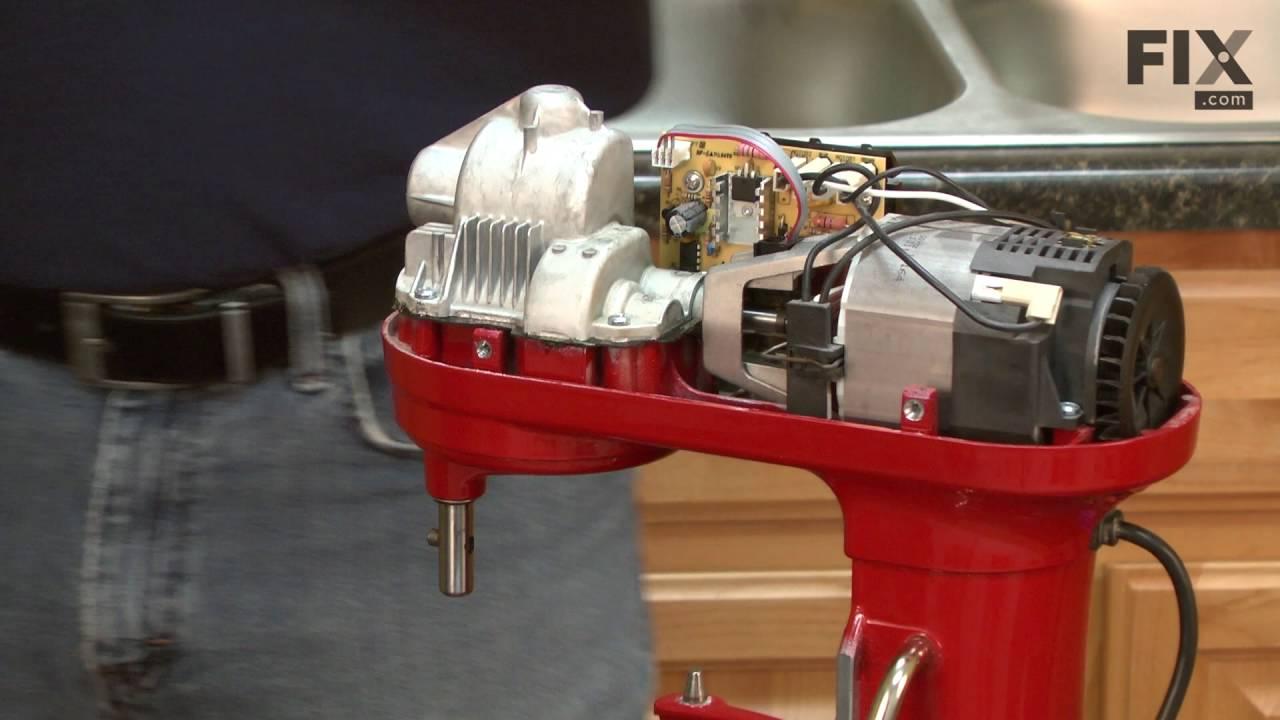 Kitchenaid Mixer Repair How To Replace The Sensor Youtube